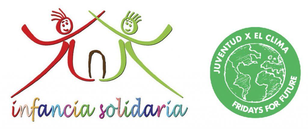 Logo Infancia Solidaria y Juventud x el clima